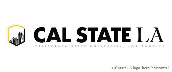 Logo for Cal State LA
