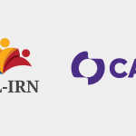 Image shows logos for the UDL-IRN and CAST