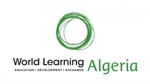 Image shows the logo for World Learning Algeria