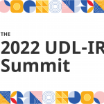 """Tile shows text: """"The 2022 UDL-IRN Summit"""""""